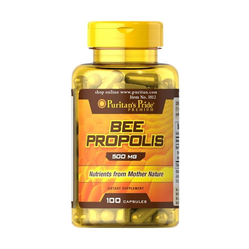Puritan Pride Bee Propolis Multivitamin [100 Kapsul]