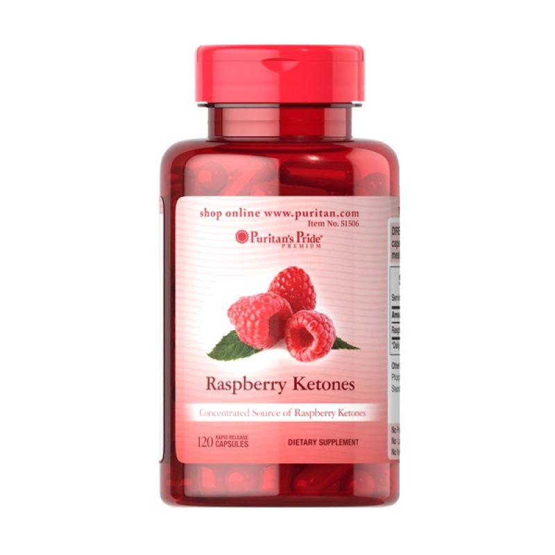 Puritan Pride Raspberry Ketones Multivitamin [120 Kapsul]
