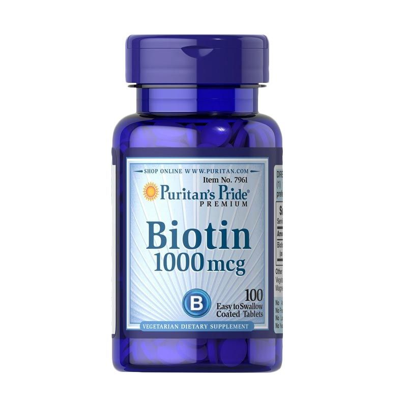 Puritan Pride Ultra Biotin Multivitamin [100 Tablet]