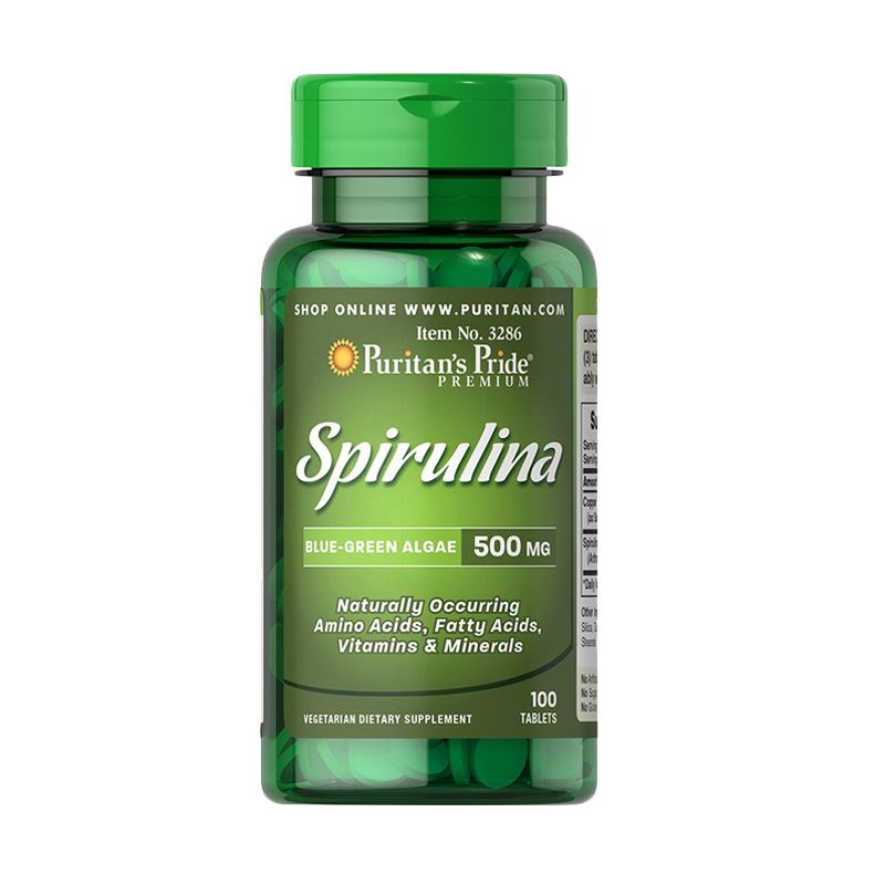 Puritan Spirulina Multivitamin [100 Tablet]