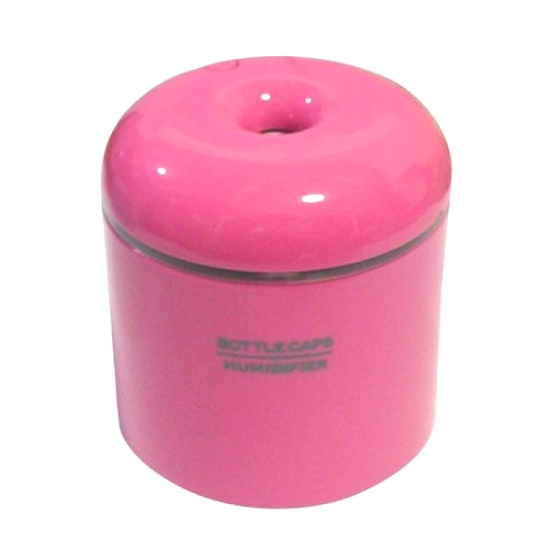Room Decor Fancy USB Bottle Caps Pink Air Humidifier