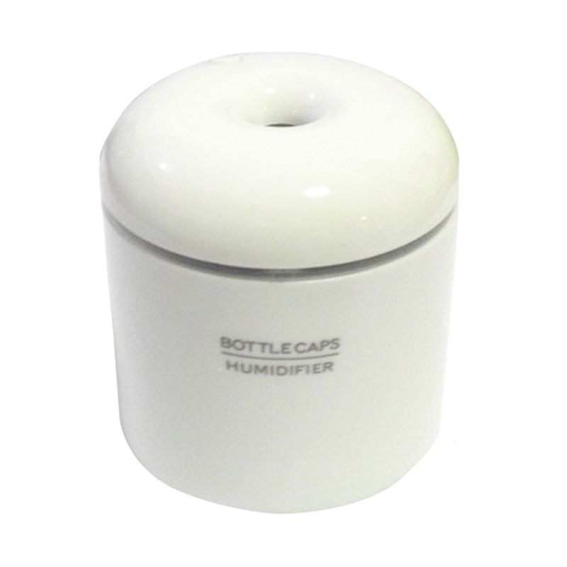 Room Decor Fancy USB Bottle Caps White Air Humidifier
