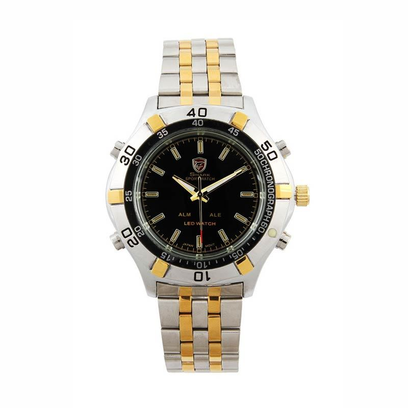SHARK Jam Tangan Pria SH040 Special Golden Edition