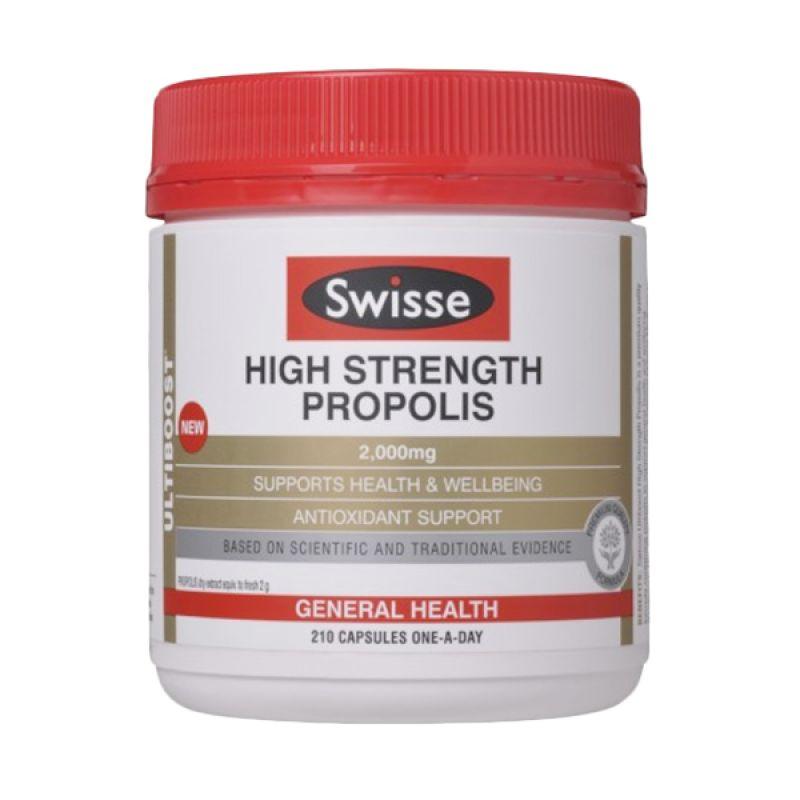 Swisse High Strength Propolis Suplemen Kesehatan [2000 mg/210 Kapsul]