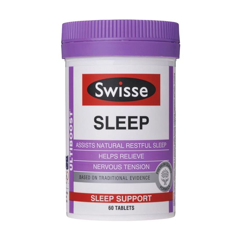 Swisse Sleep Valerian Sleep Support Multivitamin [60 Kapsul]