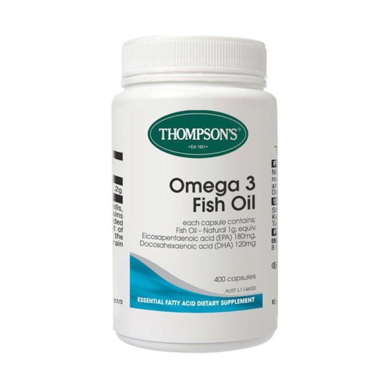 Thompson Premium Omega 3 Fish Oil [1000 mg/400 Kapsul]
