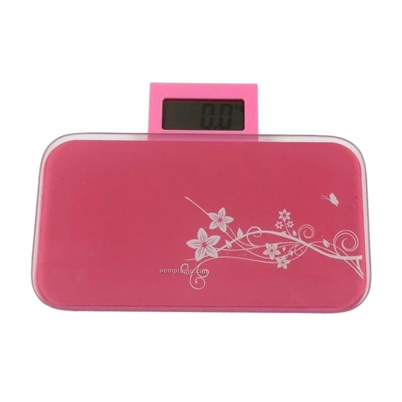 Ultimate Mini Body Digital Scale Pink Timbangan Badan Digital