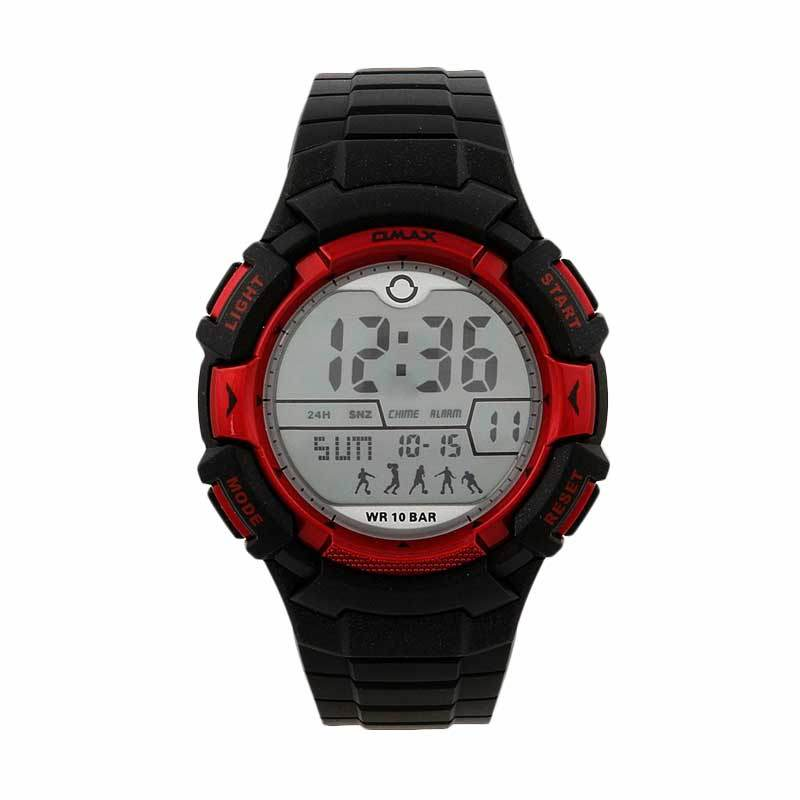 OMAX 00DP04B-E1 Black - Red