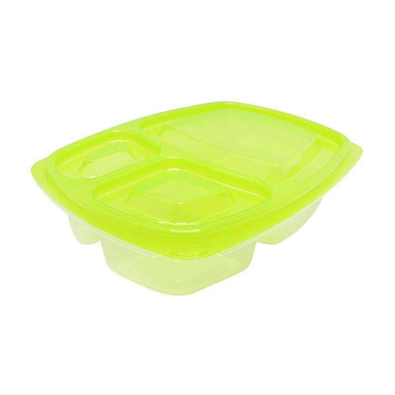 Arniss Bento Bako BB-0111 Green Kotak Makan