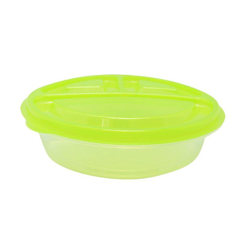 Arniss Bento Bako BB-0211 Green Kotak Makan