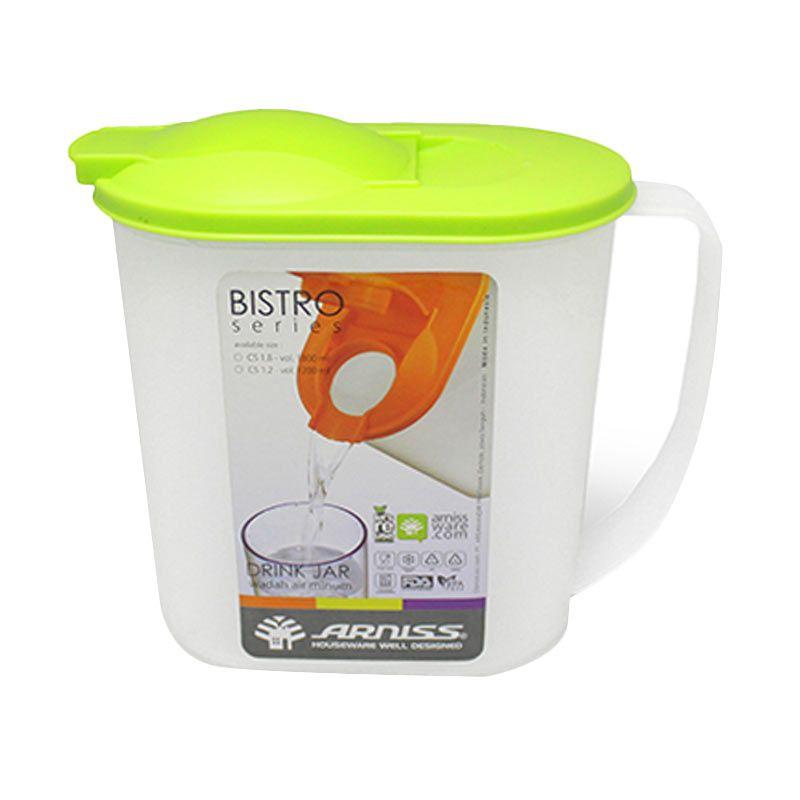 Arniss Bistro CS-1.2 Lime Green Botol Minum [1200 mL]