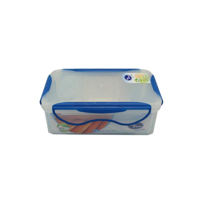 Beli 2 Bayar 1 Arniss CFPP-2108 D3 Clip Fresh Blue Kotak Makan