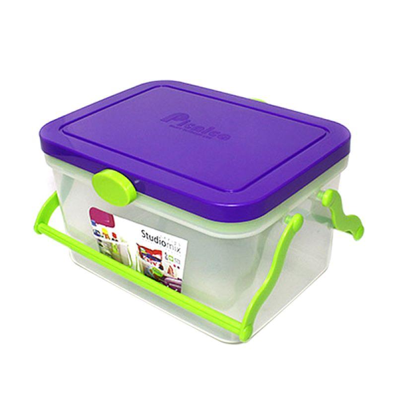 Arniss MP-0590 Studio Mix Purple Kotak Penyimpanan Serbaguna