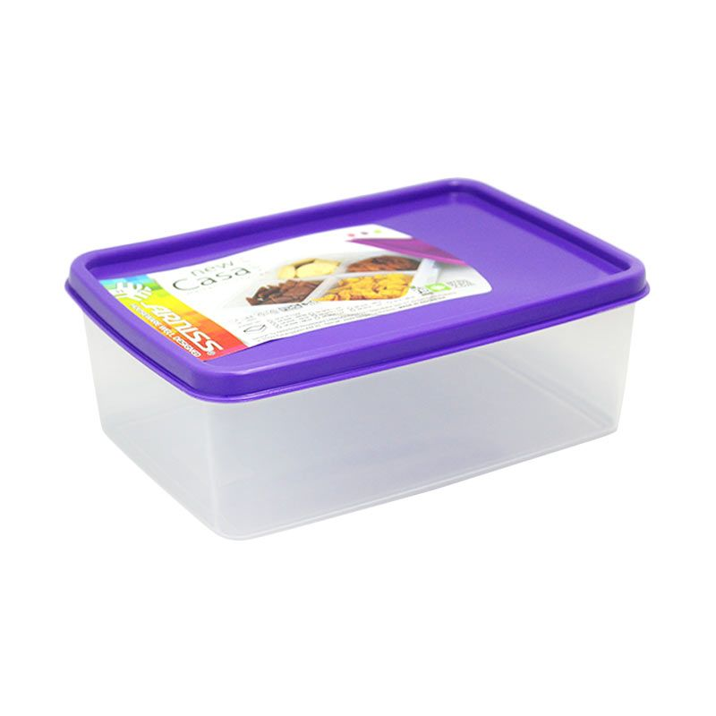 Arniss New Casa SW-0375 Purple Kotak Makan