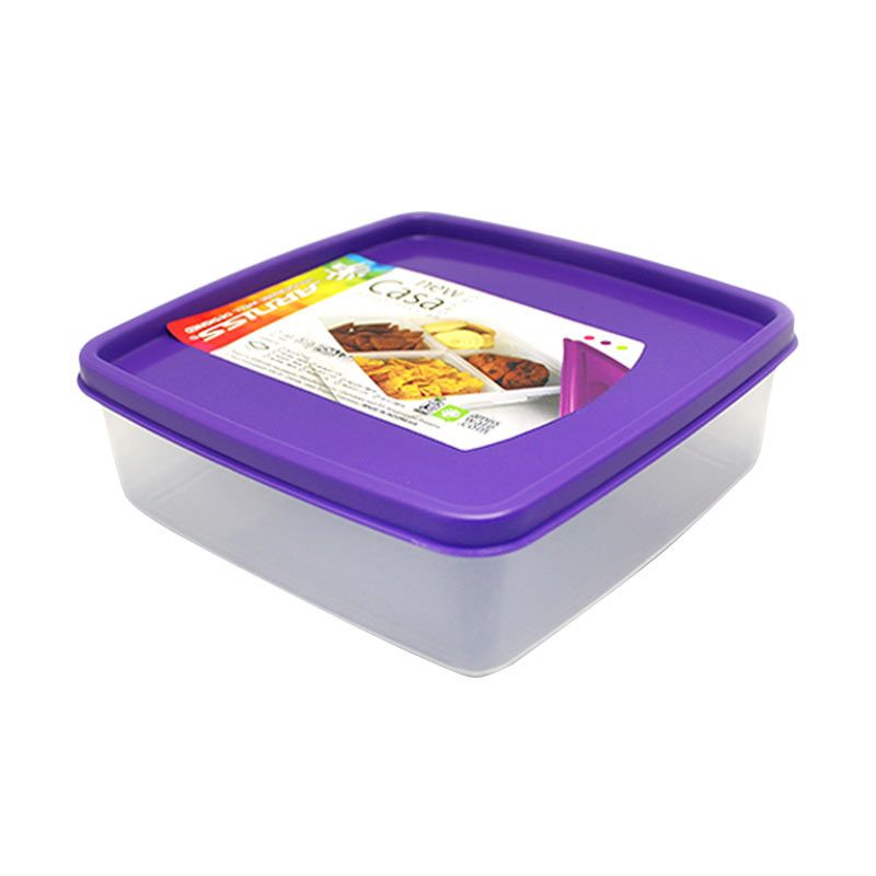 Arniss New Casa SW-0412 Purple Kotak Makan