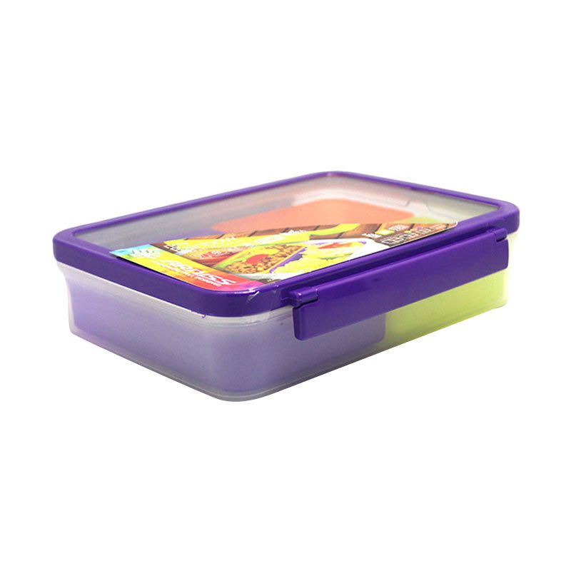 Arniss New Rainbow DX-3081 Purple Kotak Makan