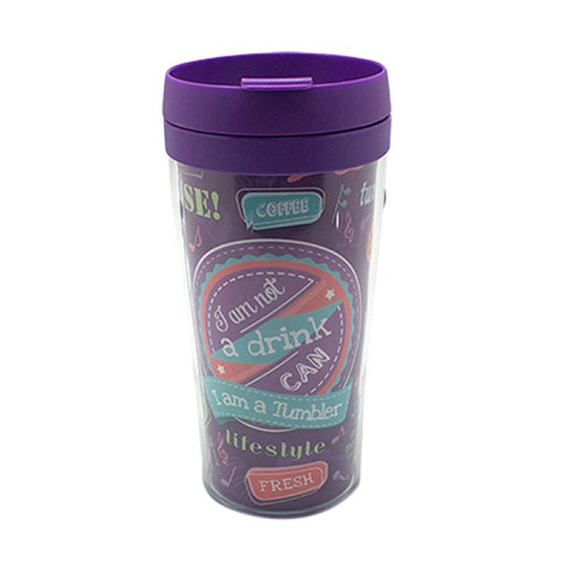 Arniss Tb-0705 Reggae Purple Tumbler Botol Minum