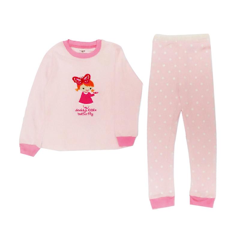 harga Arrow Apple Kids Pajamas Daddy's Little Butterfly Piyama Anak Blibli.com
