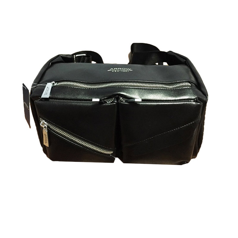 Arrow Bag TAS-AR-2256A29 Tas Pria - Black