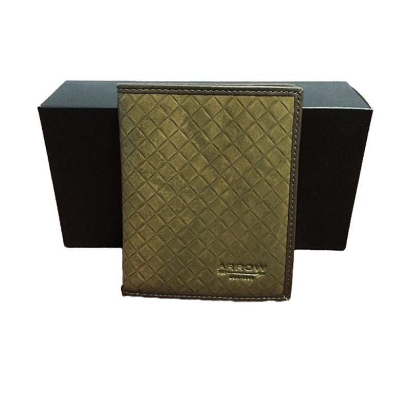 Arrow Leather Wallet DPT-AR-2121A48-2 Dompet Pria - Green