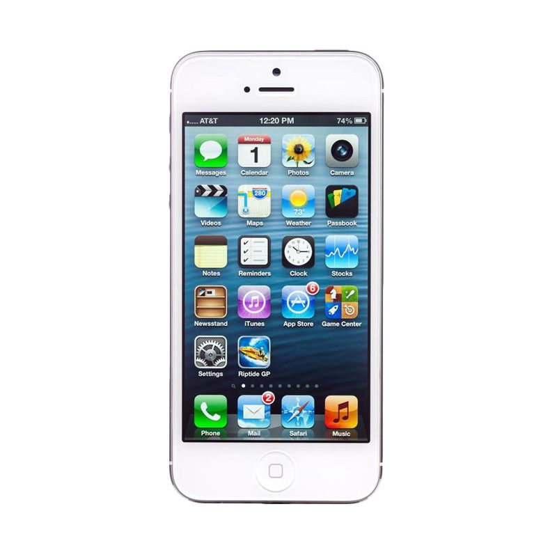 Diskon Apple iPhone 5 16 GB Putih Smartphone [Refurbished]
