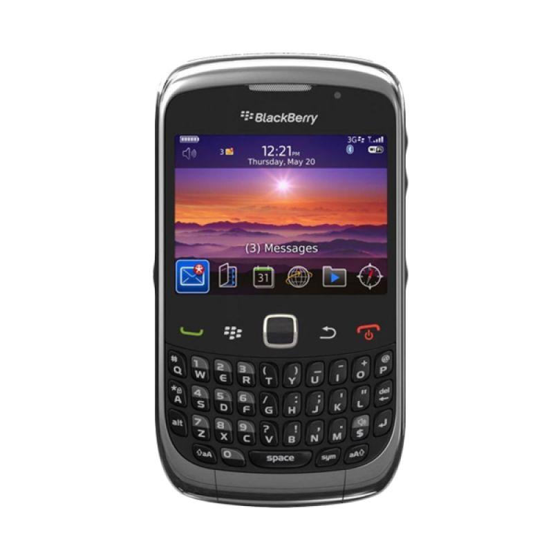 Blackberry Curve 9330 CDMA Hitam Smartphone
