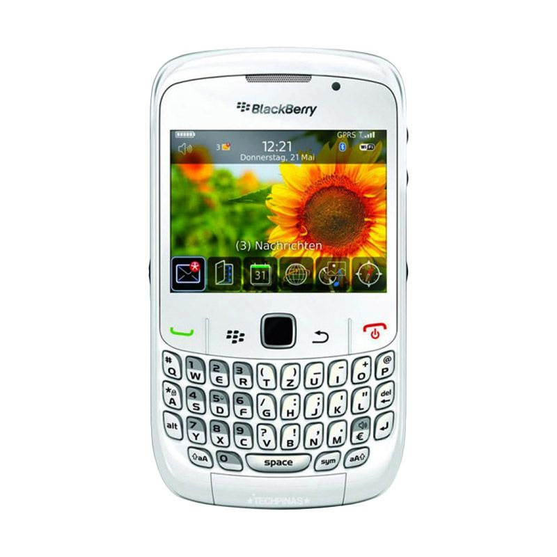 Blackberry Gemini 8520 Putih Smartphone