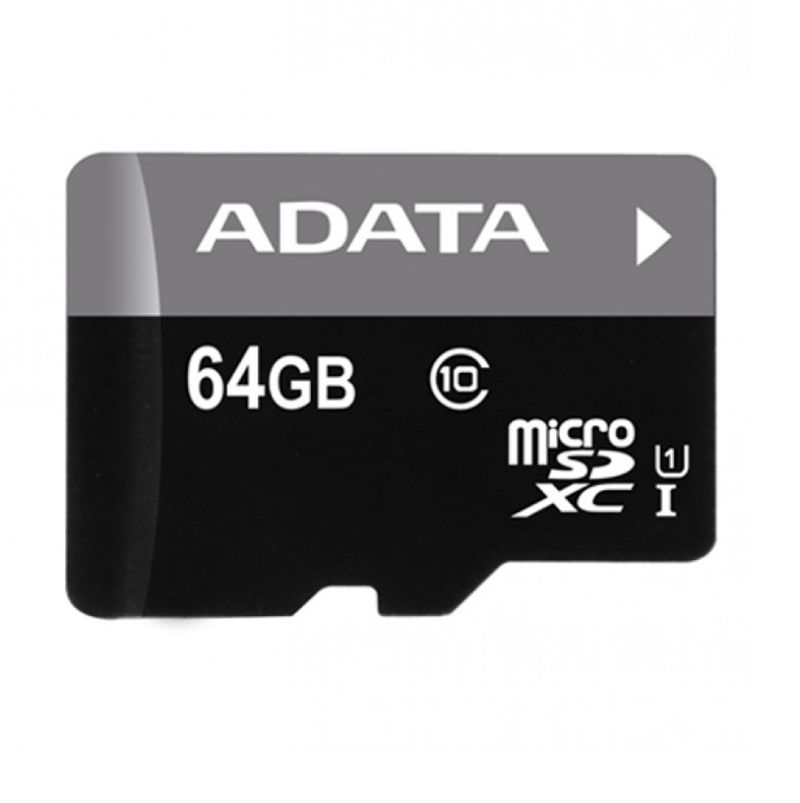ADATA Premier 64 GB Class 10 UHS-I Memory Card With Adapter