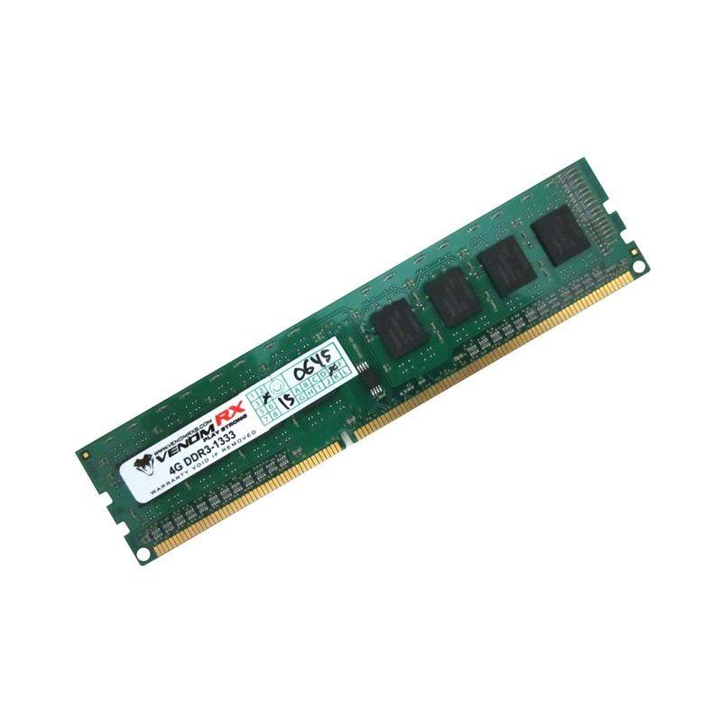 VenomRX Memory RAM Desktop 4GB DDR3-PC1333