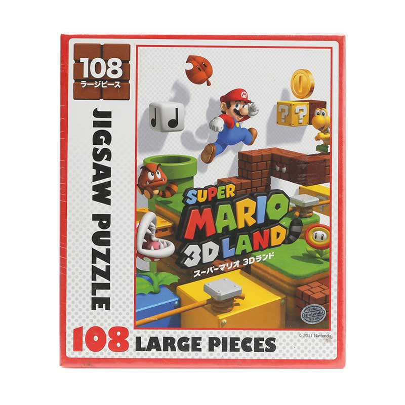 harga Artbox Super Mario 3D Land 108-L346 Mainan Puzzle [108 pcs] Blibli.com