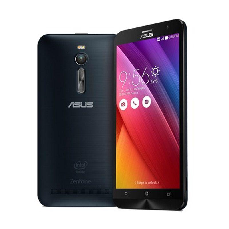 Asus Zenfone 2 ZE551ML Hitam Smartphone [32 GB/Garansi Resmi]