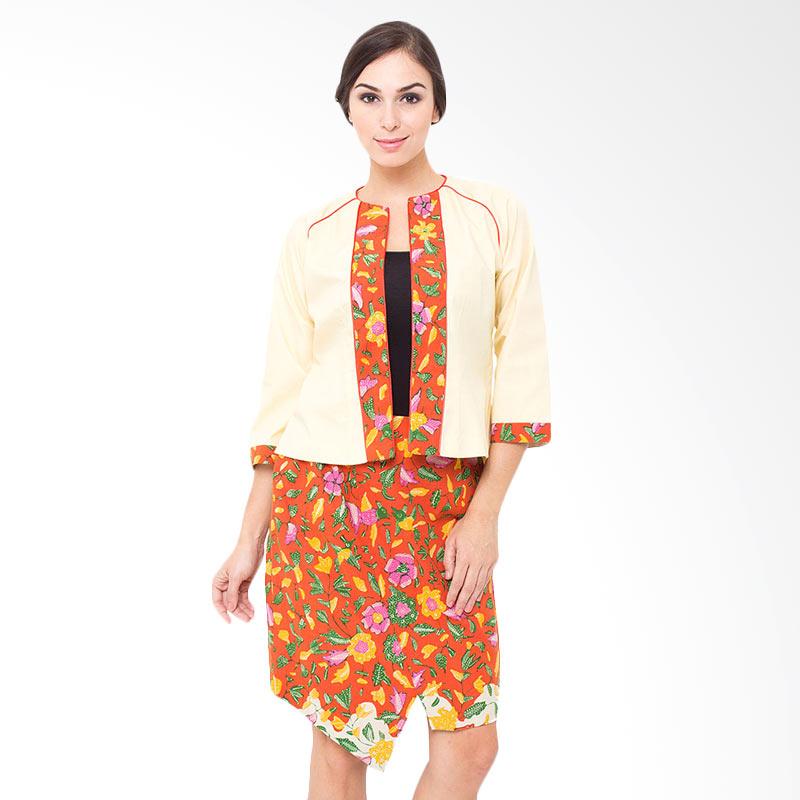 Batik Tulis Dress: Jual Arya Putri Batik Amaranggana Dress Batik Wanita