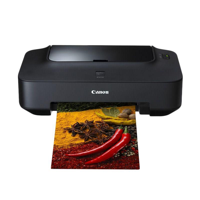 Canon Pixma Inkjet Photo iP2770 Hitam Printer
