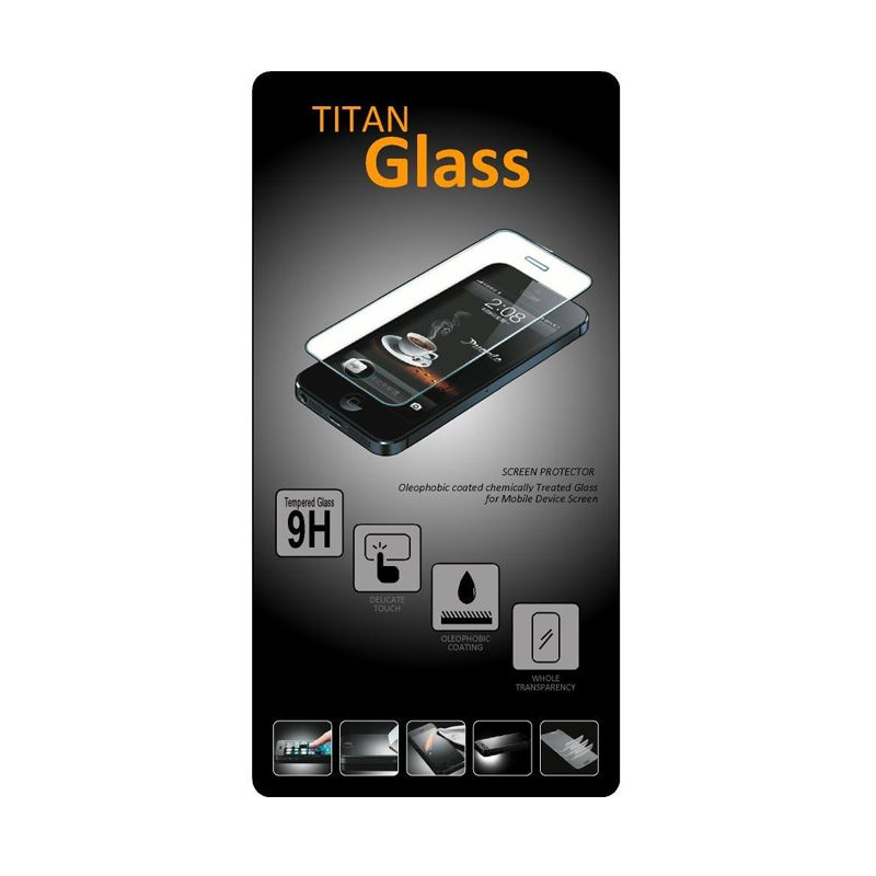 Titan Tempered Glass Screen Protector for Asus Zenfone 4