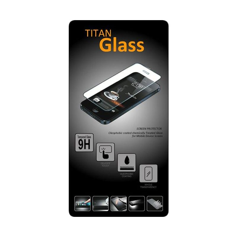 TITAN Tempered Glass Screen Protector for Blackberry Q10