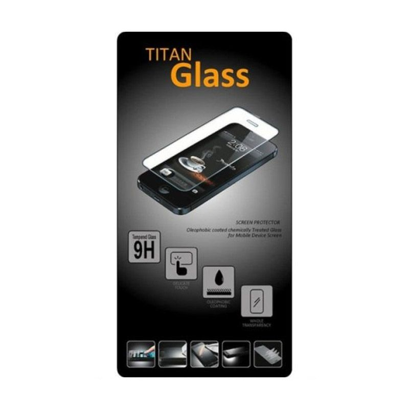 Titan Tempered Glass Screen Protector for Iphone 5 or 5s