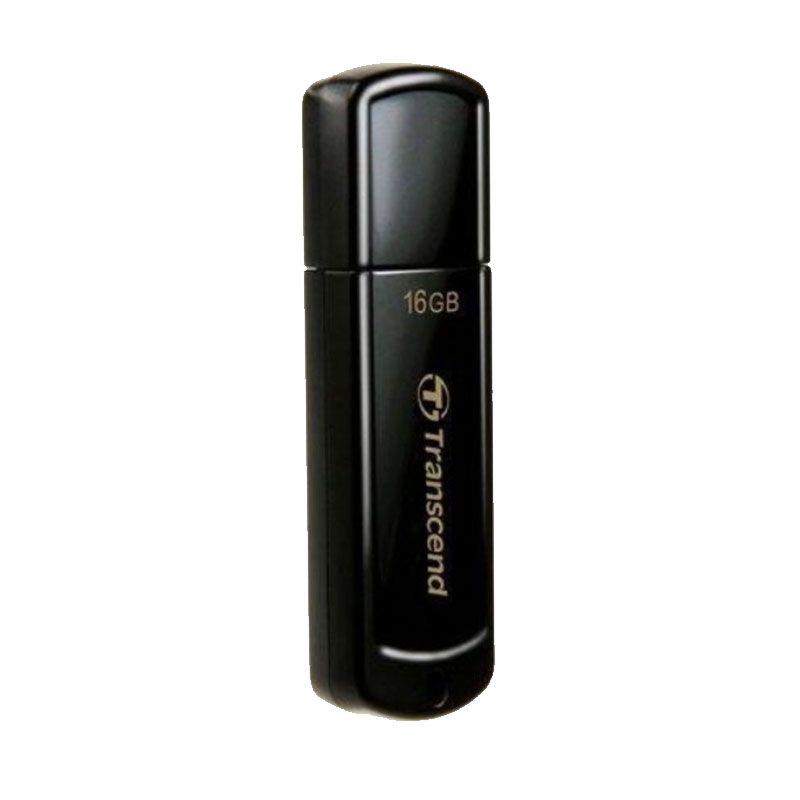 Transcend JF350 Hitam Flashdisk [16 GB]