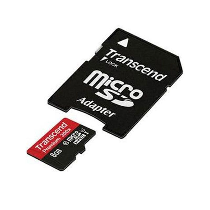 Transcend UHS 300x Class 10 Memory Card [8 GB/45 mbps]