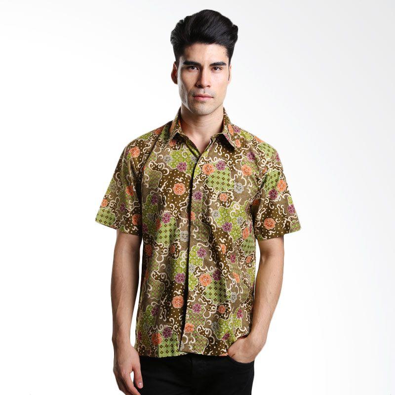 Asana Sekar Jagad Prima Cotton Limau Batik Pria