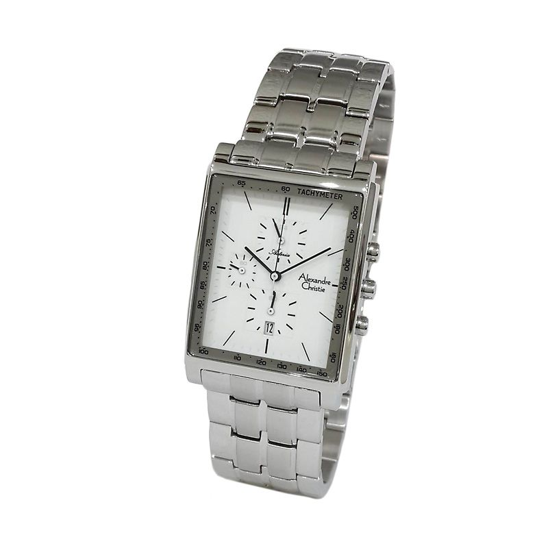 Alexandre Christie Asteria 6370MCBSSSL Jam tangan Pria
