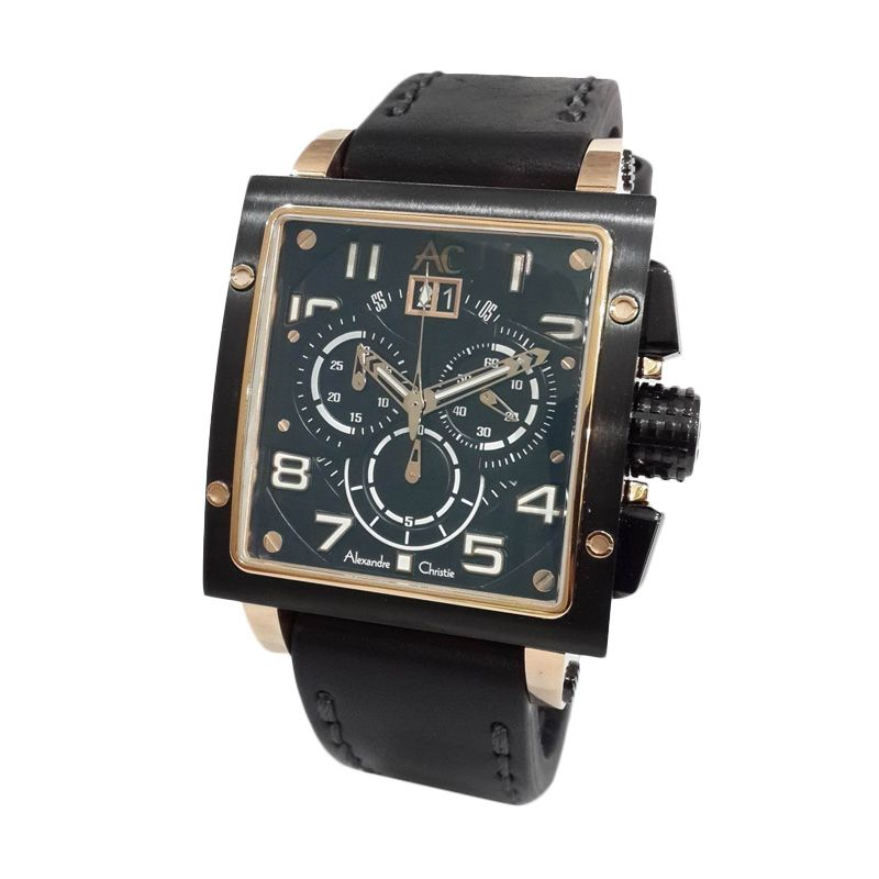 Alexandre Christie Collection 6195MCLBRBA Jam Tangan Pria