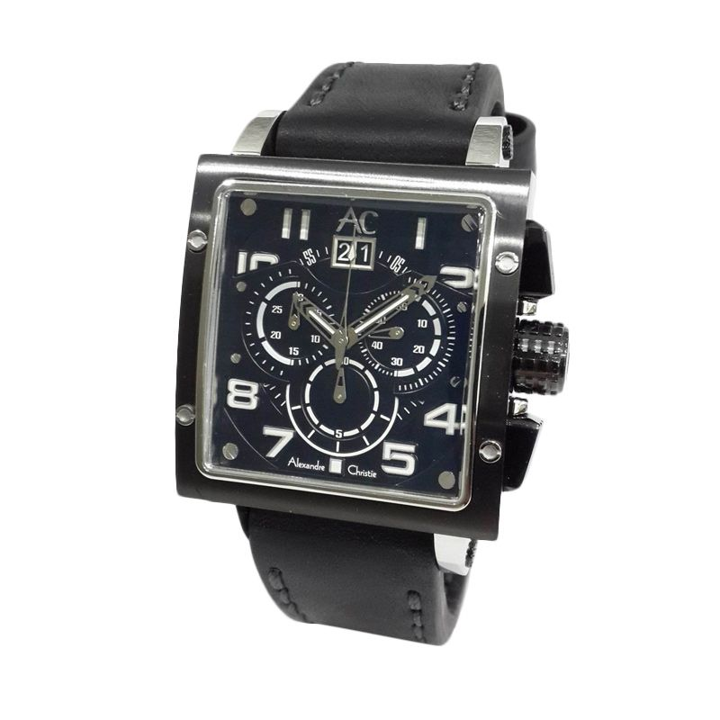 Alexandre Christie Collection 6195MCLTBBA Jam Tangan Pria