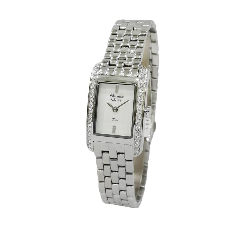 Alexandre Christie Passion 2444LHBSSMSDR Jam Tangan Wanita (Fashion Watch) (Silver)