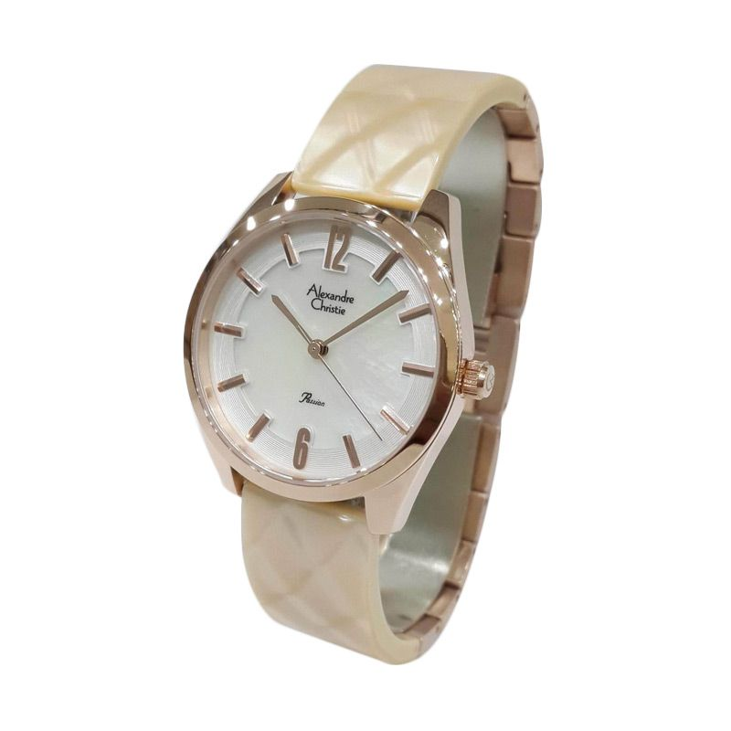 Alexandre Christie Passion 2521LHBRGSLYL Rose Gold Jam tangan Wanita