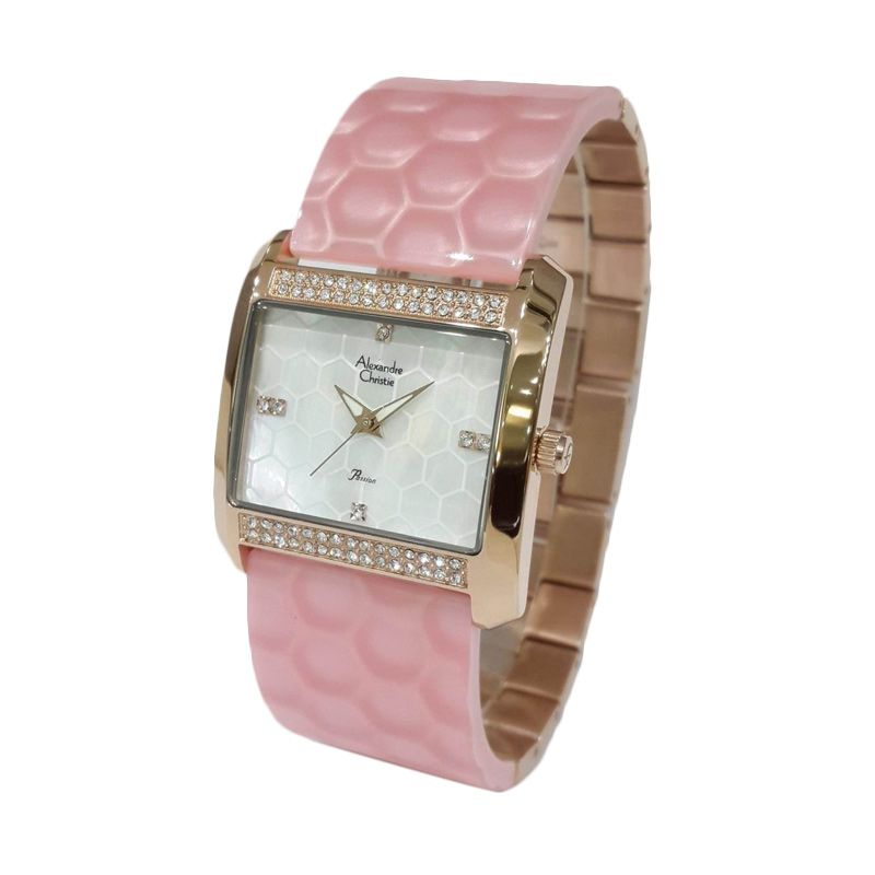 Alexandre Christie Passion 2526LHBRGMSPN Rose Gold Jam tangan Wanita