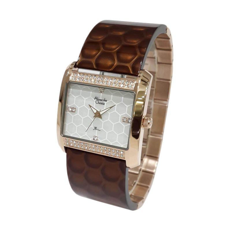 Alexandre Christie Passion 2526LHBRGMSRE Rose Gold Jam tangan Wanita