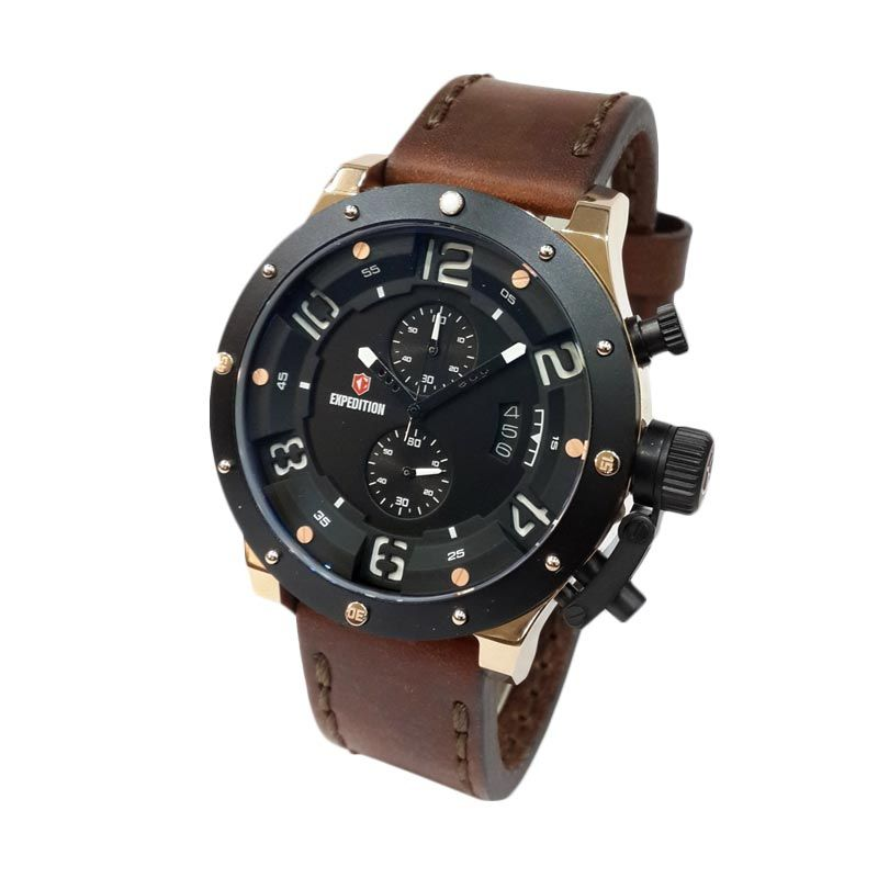 Expedition Jam Tangan Pria 6381MCLBRBA