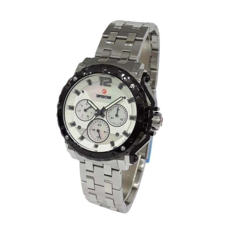 Expedition 6402BFBTBSL Silver Jam Tangan Wanita