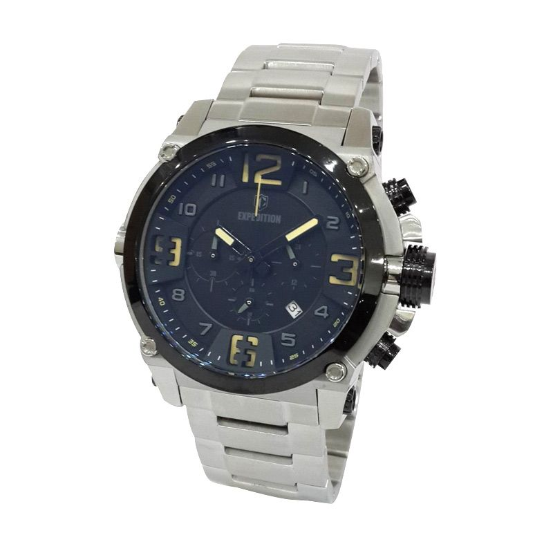Expedition 6605MCBTBBA Silver Jam Tangan Pria