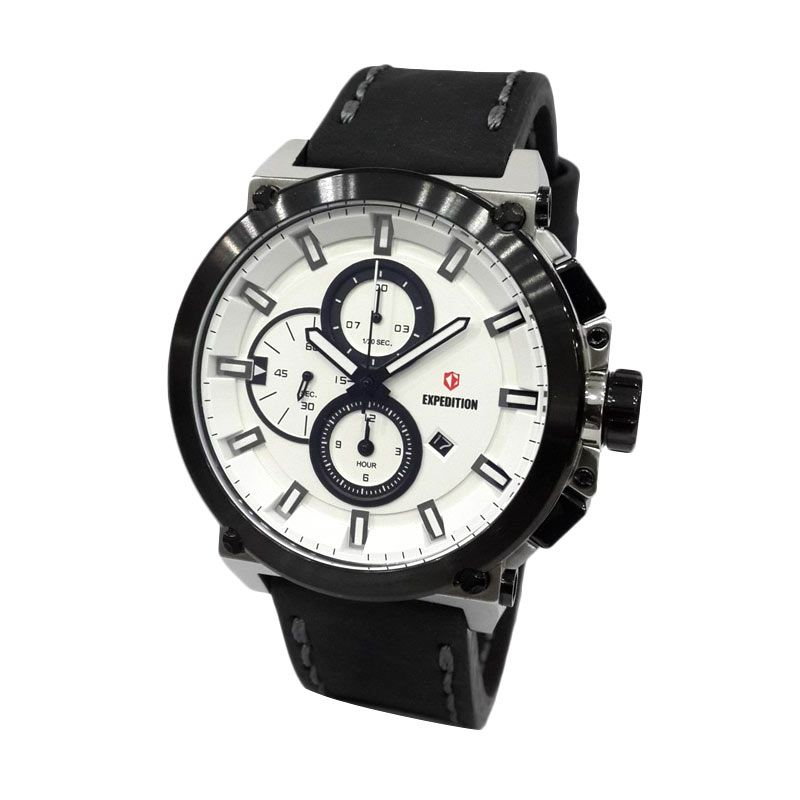 Expedition 6612MCLTBSLBA Silver Jam Tangan Pria